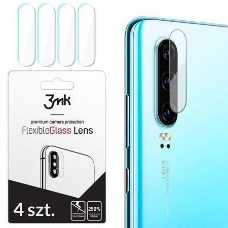 3MK FlexibleGlass Lens Samsung Galaxy A50s / Galaxy A50 / Galaxy A30s Szkło hybrydowe na obiektyw aparatu 4szt