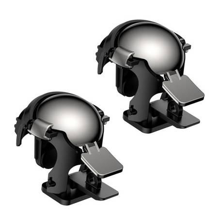 Baseus Level 3 Helmet PUBG pad gamepad joystick do telefonu do gier czarny (GMGA03-A01)