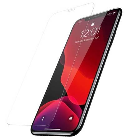 Baseus szkło hartowane 0.3mm 9H iPhone 11 / iPhone XR + pozycjoner (SGAPIPH61-LS02)