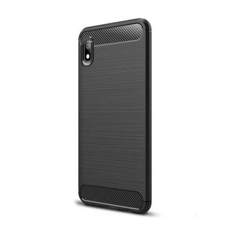 Carbon Case elastyczne etui pokrowiec Xiaomi Redmi 7A czarny