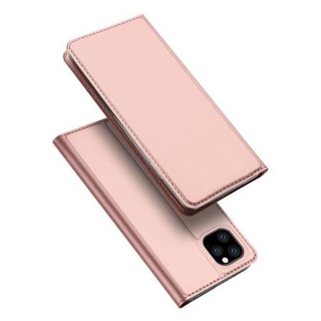 DUX DUCIS Skin Pro kabura etui pokrowiec z klapką iPhone 11 Pro różowy