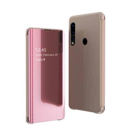 Flip View futerał etui z klapką Huawei P30 Lite różowy