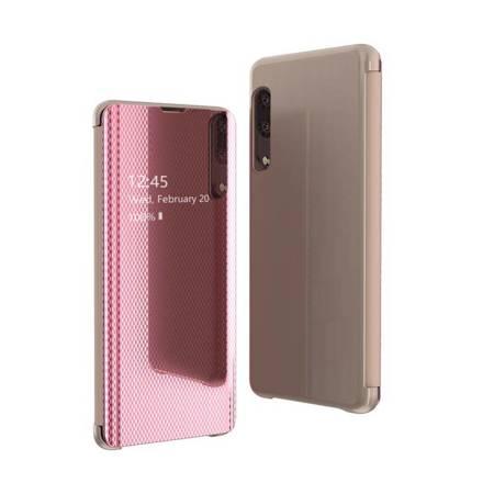 Flip View futerał etui z klapką Samsung Galaxy A50s / Galaxy A50 / Galaxy A30s różowy
