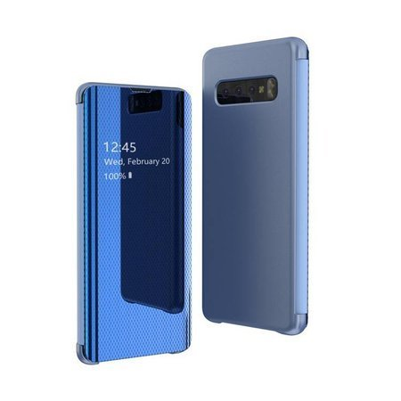 Flip View futerał etui z klapką Samsung Galaxy S10e niebieski