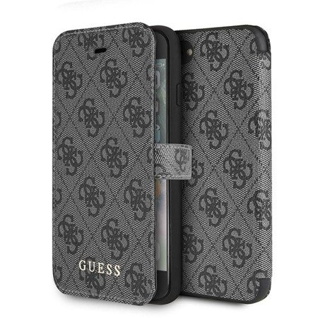 Guess GUFLBKI84GG iPhone 7/8 grey /szary book 4G