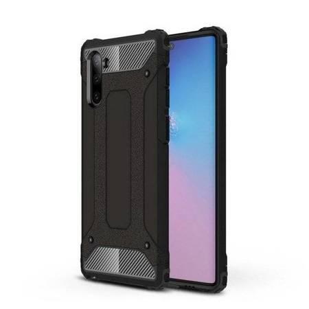 Hybrid Armor pancerne hybrydowe etui pokrowiec Samsung Galaxy Note 10 czarny