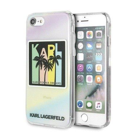 Karl Lagerfeld KLHCI8IRKD iPhone 7/8 hardcase Kalifornia Dreams