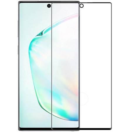 Nillkin 3D CP+MAX ultracienkie szkło hartowane na cały ekran z ramką 0,33 MM 9H Samsung Galaxy Note 10 Plus czarny