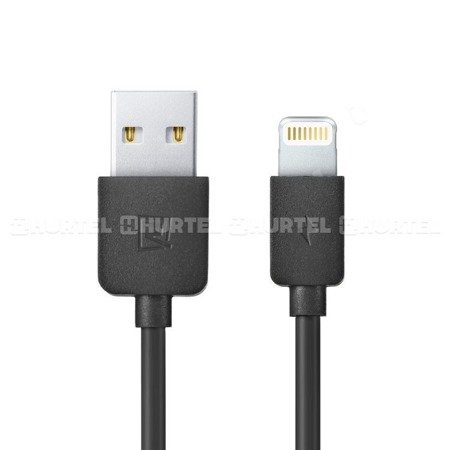 Remax Light Data Cable RC-006i kabel USB Lightning 1M czarny