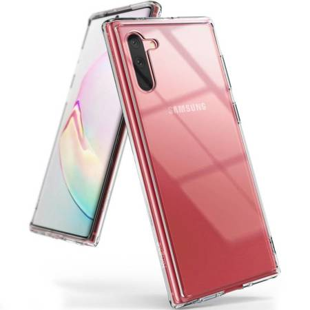 Ringke Fusion etui pokrowiec z żelową ramką Samsung Galaxy Note 10 Plus przezroczysty (FSSG0069)