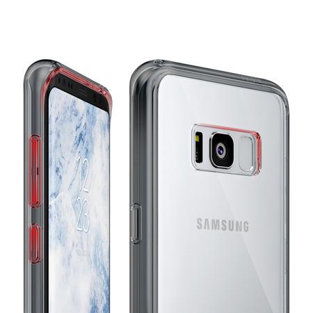 Ringke Fusion etui pokrowiec z żelową ramką Samsung Galaxy S8 G950 różowy