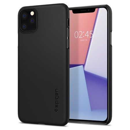 Spigen Thin Fit Iphone 11 Pro Max Black