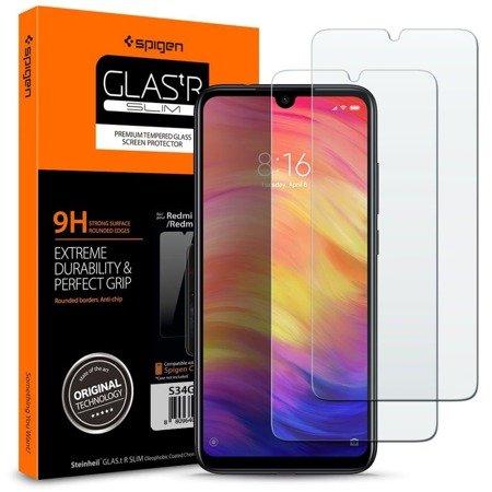 Szkło Hartowane Spigen Glas.Tr Slim 2-Pack Xioami Redmi Note 7