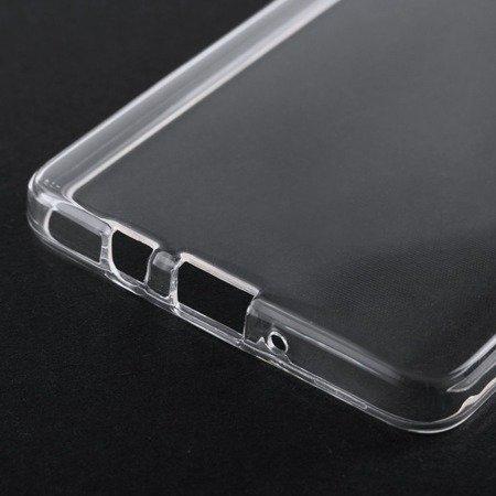 Żelowy pokrowiec etui Clear Gel 1.0mm Huawei P10 przezroczyste