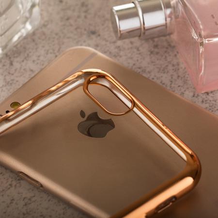 Żelowy pokrowiec etui Metalic Slim Xiaomi Redmi Note 2 Złoty