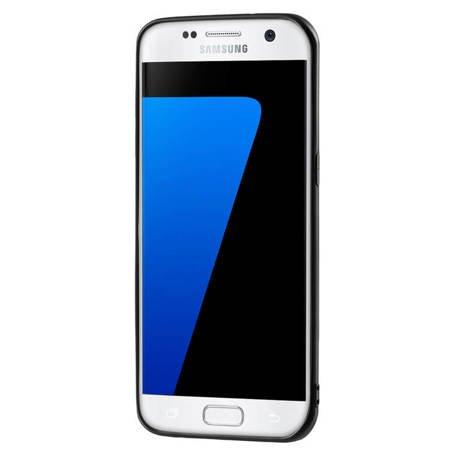 Żelowy pokrowiec etui Soft Matt Samsung Galaxy S7 Edge G935 czarny