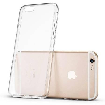 Żelowy pokrowiec etui Ultra Clear 0.5mm iPhone 11 przezroczysty